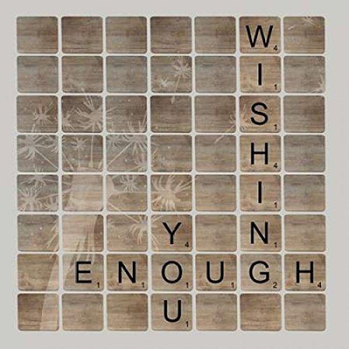 Wish Enough Poster Print by Longfellow Designs (24 x 24)