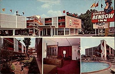 Admiral Benbow Inn Louisville, Kentucky Original Vintage Postcard
