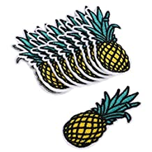 3PCS Embroidered Sew Iron On Patches Badge Hat Bag Fabric Applique Clothes Craft DIY