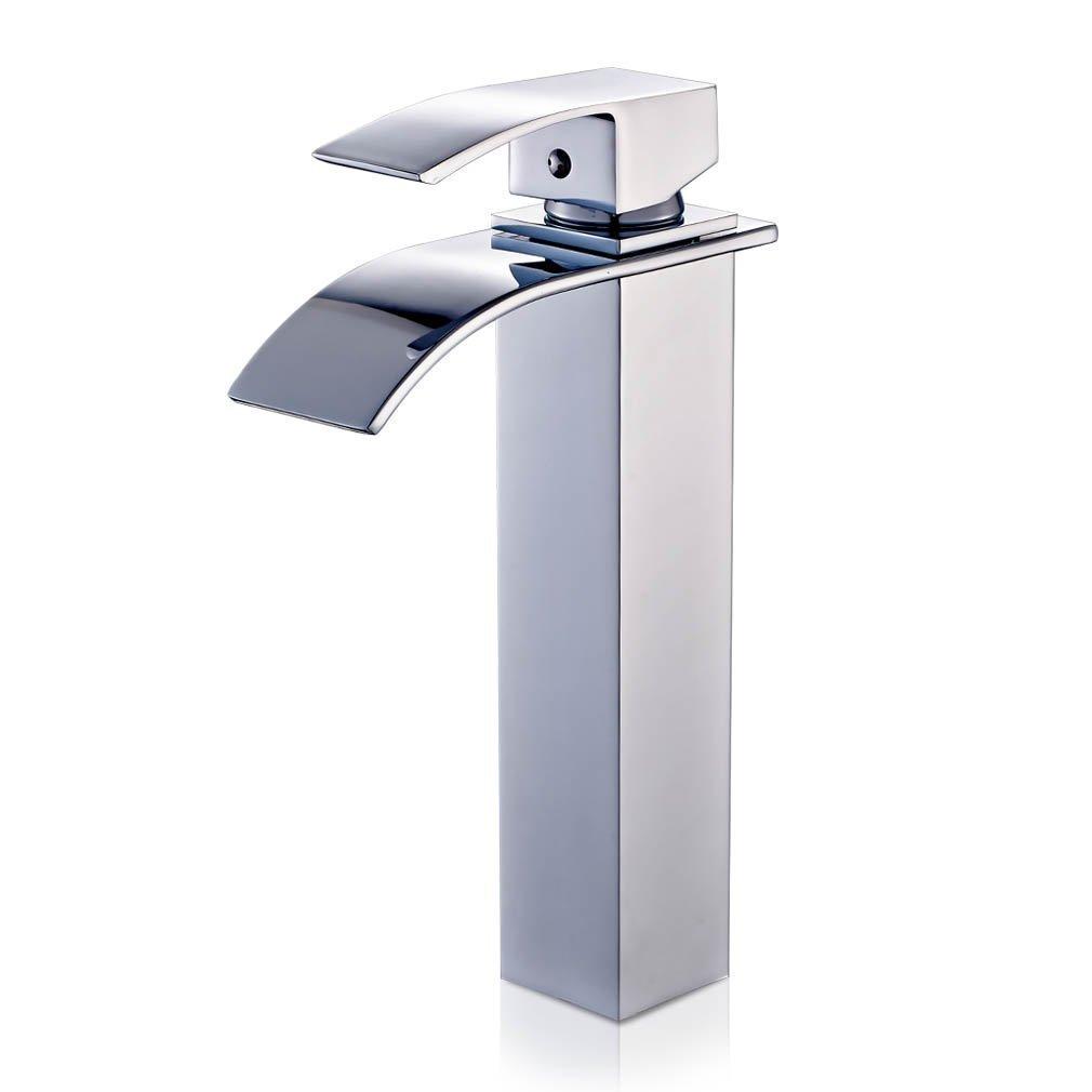 auralum® miscelatore monocomando per lavabo rubinetto bagno a ... - Rubinetto Lavandino Bagno