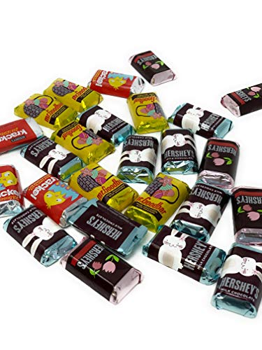Hershey's Miniatures Special Fun Size Chocolate Bars | Easter Chocolate & Candy Assortment | Hershey Miniatures Assortment & Easter Basket Stuffers | Easter Gifts - 2 lb
