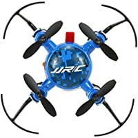 Lcyyo@ JJRC H30 MINI Headless Mode One-key Return 2.4G 4CH 6-Axis Gyro Drone RTF RC Quadcopter with 360° Rolling Action (Blue)