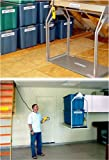 Versalift Attic Lift Model 24 H Corded Control Unit for 11' - 14' distance from Attic floor to garage floor. The control cord is 15' long. Weight capacity = 200 lbs.