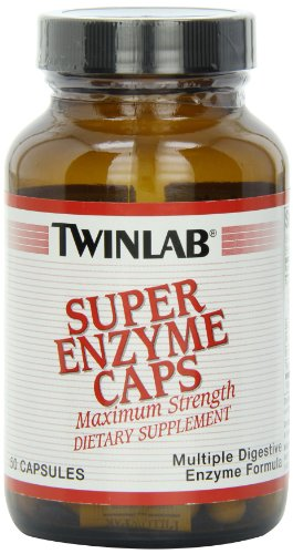 Twinlab 50 Capsules - Twinlab Super Enzymes 50 Capsules