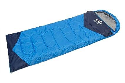 baijuxing Saco de Dormir Impermeable Acolchado acampado/Exterior/Picnic/Hotel para Mantener Caliente