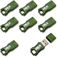 EP Memory Green Mini GorillaDrive 8GB Rugged USB Flash Drive (8-Pack)