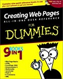 img - for Creating Web Pages All-in-One Desk Reference For Dummies by Emily A. Vander Veer (2001-11-29) book / textbook / text book