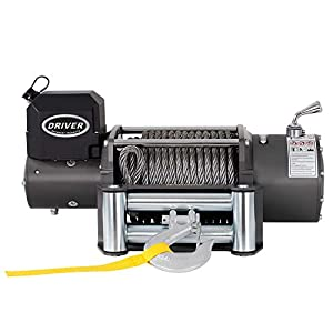 Driver Recovery Products Electric Winch Combo Set - LD17-PRO Winch with Premium Accessory Package 12,000 lbs. Capacity - by