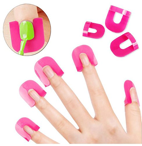 Nail Polish Varnish Protector Holder Manicure Finger Nail Art Design Tips Cover Shield Tools UV Gel Nails Design WYUE