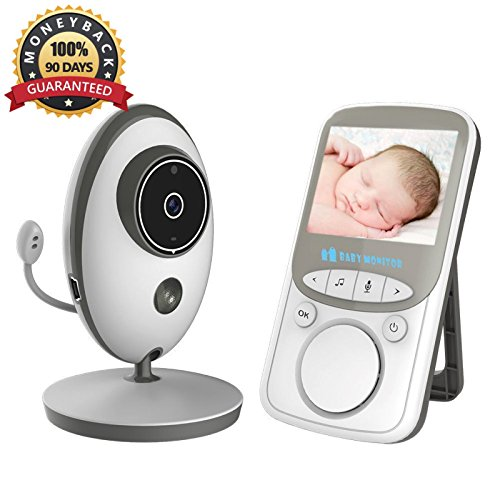 Video Baby Monitor Wireless with Digital Camera 2 Way Talkback,