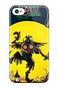 Juliam Beisel's Shop 3581390K97291145 Case Cover Skin For Iphone 4/4s (the Legend Of Zelda Majora S Mask)
