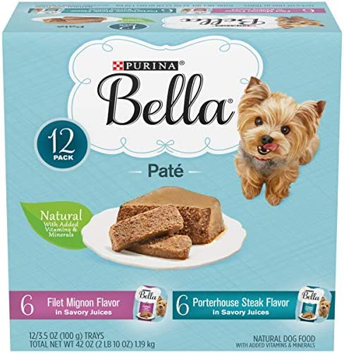 Purina Bella Single Serve Adult Wet Dog Food 12 ct. Variety Packs