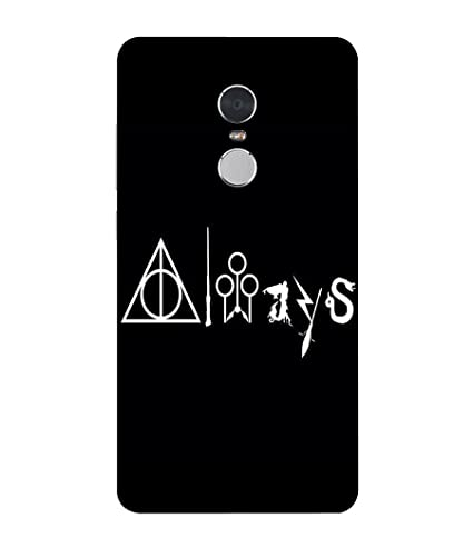 official photos 18274 90a51 Loister Harry Potter Always Mobile Cover Compatible for: Amazon.in ...