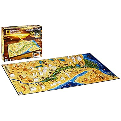 4d Cityscape Time Puzzle National Geographic Antico Egitto