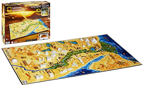4D Cityscape Inc 4D National Geographic Ancient Egypt Puzzle Puzzle from 4D Cityscape