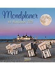 Der große Mondplaner 2022: Broschürenkalender mit Ferienterminen und Mondpausen