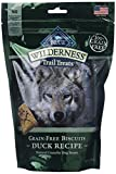 Blue Buffalo Wilderness Trail Treats Grain Free Duck Dog Biscuits 2/10Ounce For Sale