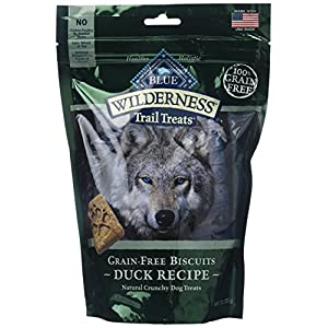 Blue Buffalo Wilderness Trail Treats Grain Free Duck Dog Biscuits 2 Packages – 10 Ounces each