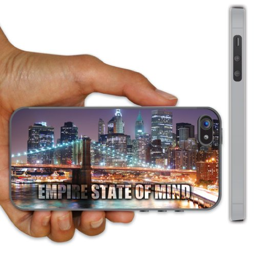 iPhone 5 Case - New York City - Empire State of Mind - Clear Protective Hard Case