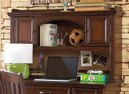 Amazon Com Samuel Lawrence Furniture Expedition Desk Hutch In