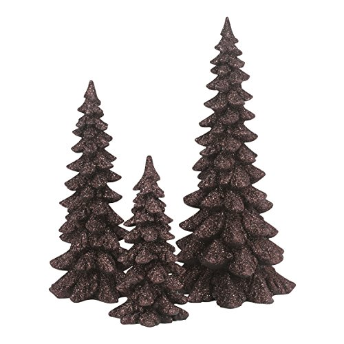 Department 56 Accessories for Villages Holiday Trees Brown Accessory Figurine