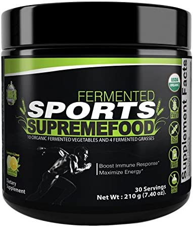 Divine Health Sports Supreme-Food, Lemon-Lime, 210 g