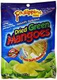 Philippine Brand Dried Green Mango, 3.5 Ounce Pouches, 100g, (Pack of 25)