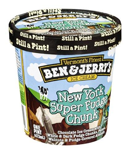 Ben & Jerry's, New York Super Fudge Chunk Ice Cream, Pint (8 Count)