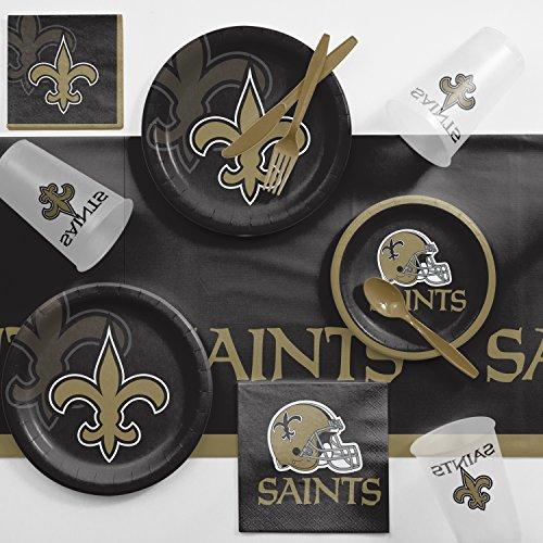 New Orleans Saints Party Supplies Kit, Serves 8 ()