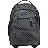 JanSport Driver 8 Rolling Backpack- Sale Colors (Black Dot-O-Rama)
