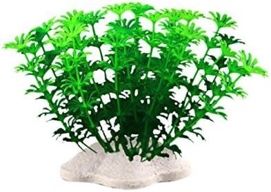 Amazon.com : Vacally 6Pcs Fish Tank Plastic Decoration Aquarium Green Plants Water Grass Fish Tank Artificial Plants 4.33 Inch : Pet Supplies