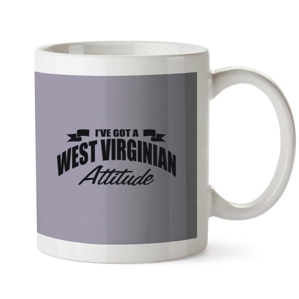 Idakoos West Virginian Attitude - Estados/Gentilicio - Taza: Amazon.es: Hogar