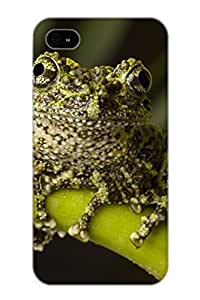 Flexible Tpu Back Case Cover For Iphone 4/4s - Animal Frog
