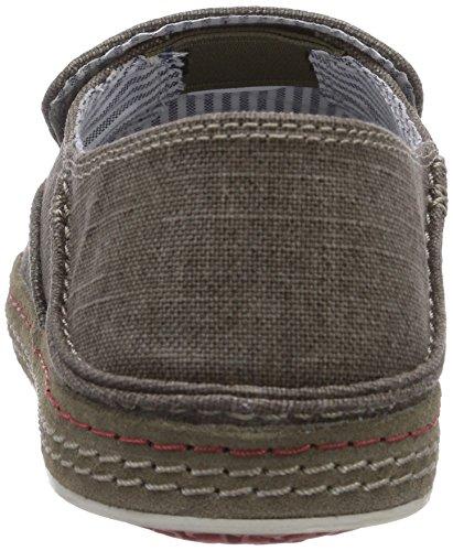 Verde Pantofole da Slaten Free Uomo da casa gr Clarks dw0azxqEt