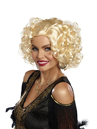 Dreamgirl Women's Retro Costume Wig, Blonde, One Size - Flapper Girl Adult Wig