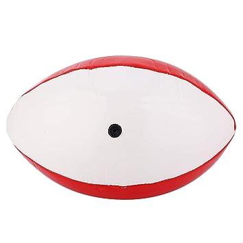 Vbestlife Tamaño 3 Bola de Rugby de fútbol para niños Practica ...
