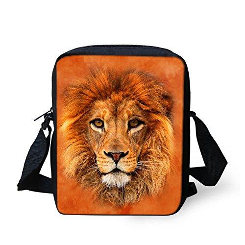Marron loup HUGS bandoulière petit Y Sac CC3519E IDEA pour Lion femme ycwy1pWn