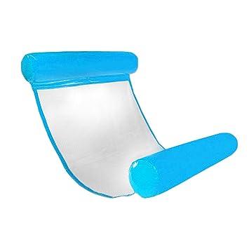 CampHiking® Hamaca flotante para piscina, hinchable, compacta ...