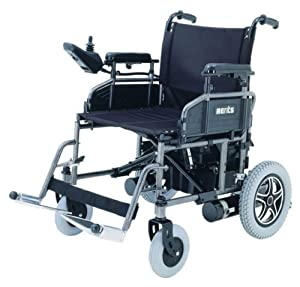 """Merits P101 Folding Power Chair, Electric Wheelchair, 16"""" Wide Seat by Merits Health"""