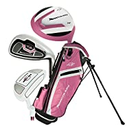 Ray Cook Golf Manta Ray 5 Piece Girls Junior Set with Bag (Ages 3-5) Pink