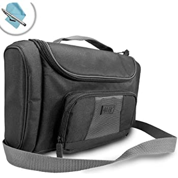 MTG Deck Card Carrying Case by USA Gear - Magic the Gathering Deck & Supply Bag with Adjustable Interior & Weather Resistant Exterior - Fits M16 Deck Builder's ToolKit, Booster Box, Dice, & more