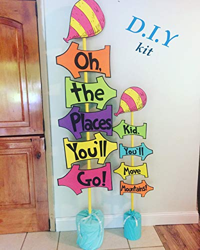 Oh the places you'll go DIY kit