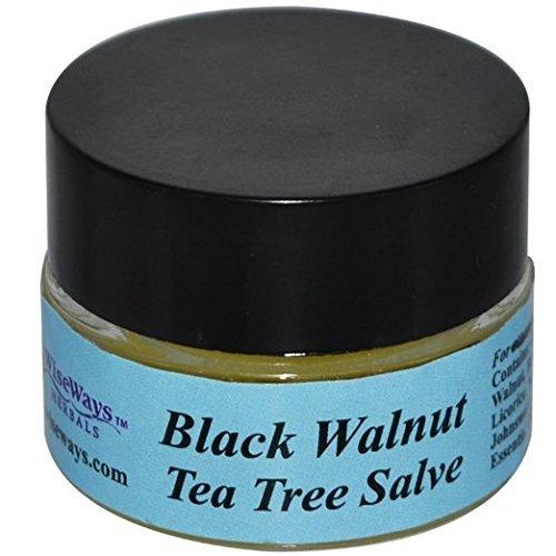 - WiseWays Herbals Black Walnut-Tea Tree Salve 2 oz.