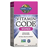 Garden of Life Multivitamin for Women, Vitamin Code