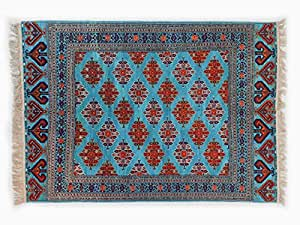 Pure Natural Wool Turkmen Elite Handmade Carpet (2m X 2.8m)