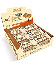 Applied Nutrition Protein Indulgence High Protein Low Sugar Bar Protein Breakfast Snack Anytime 15g Protein Per Unit Box Pack 12 x 50g