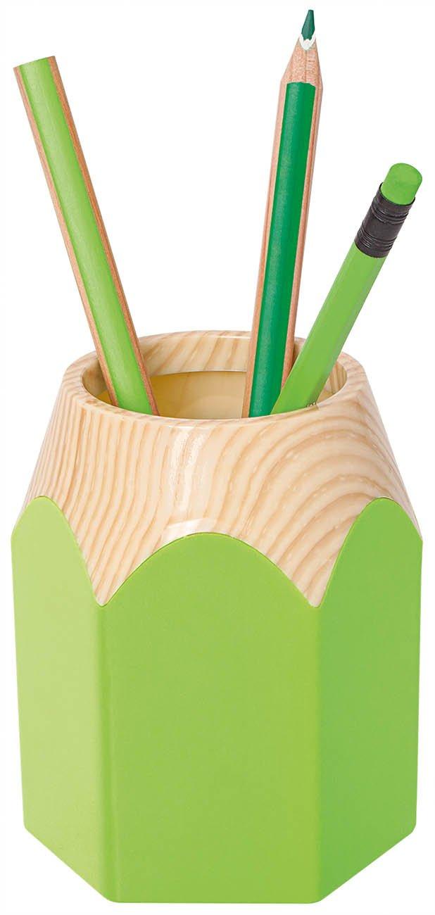 Wedo 245255011/portapenne pencil in forma di matite 5/X 10 5/cm colore: verde mela 5/X 7 Plastica Resistente circa 8