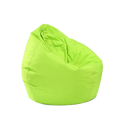 Enjoyable Eyiou Bean Bag Chair Cover Sofa Slipcover Without Filling Comfort Fabric Kids Toy Storage 11 Colors Pick Green Camellatalisay Diy Chair Ideas Camellatalisaycom