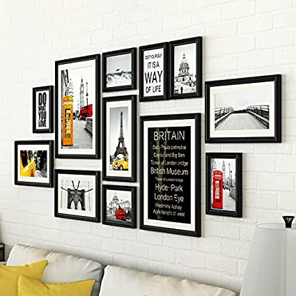 Composite legno massello foto AN DER Wand nel soggiorno ...