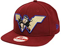 New Era 9Fifty Retroflect Wonder Woman Maroon Snapback BVS Dawn of Justice